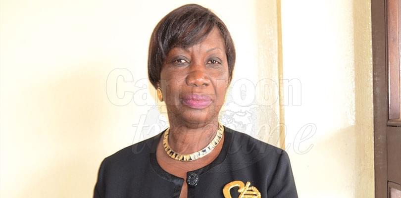 Image : Edith Ondoa Ateba, ambassadeur du Cameroun au Gabon.