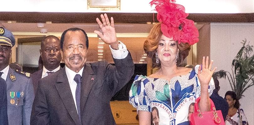 Image : Festive Ceremonies For Presidential Couple