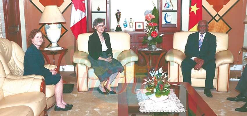 Image : Coopération: une hôte canadienne chez le MINREX