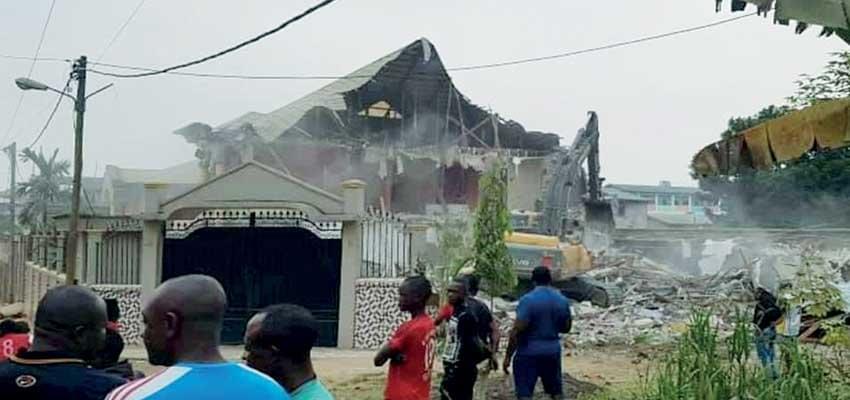 Image : Logpom: un domicile conjugal détruit