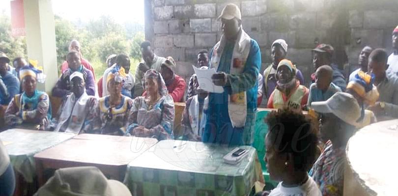 Image : Dja-et-Lobo: le candidat Ndam  Njoya déploie ses équipes