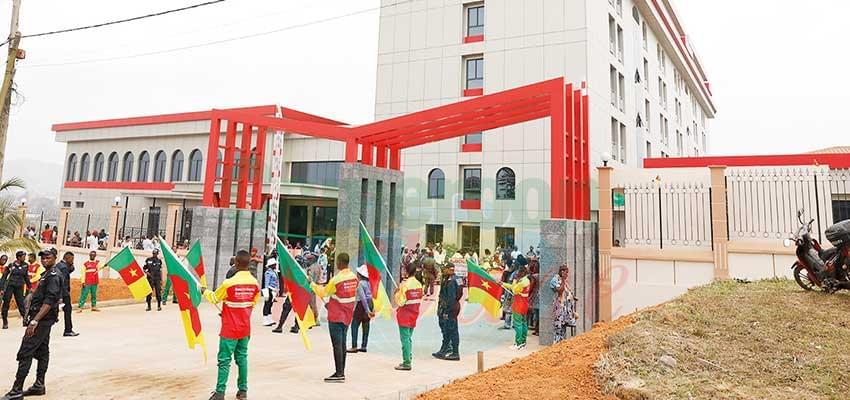Developmental Projects : PM Inaugurates Ebolowa's Magnificent Hotel