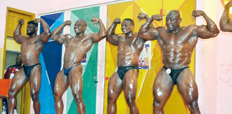 Image : Bodybuilding Cup of Cameroon: Tsanga Christain, Tassi Engama Winners