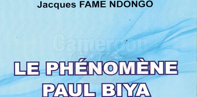 Image : Livre: Fame Ndongo décrypte Paul Biy