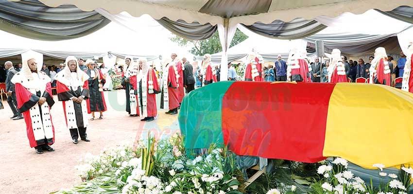 La Cour suprême a salué la mémoire de l'un de ses piliers.