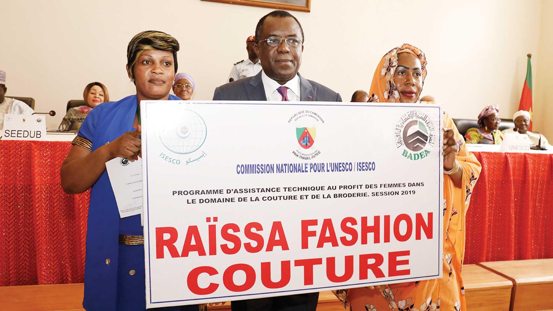 Autonomisation de la femme: 50 professionnelles de la couture sur le terrain