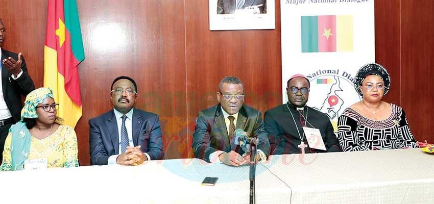 Grande dialogue national : engagement en faveur de l'unité du Cameroun