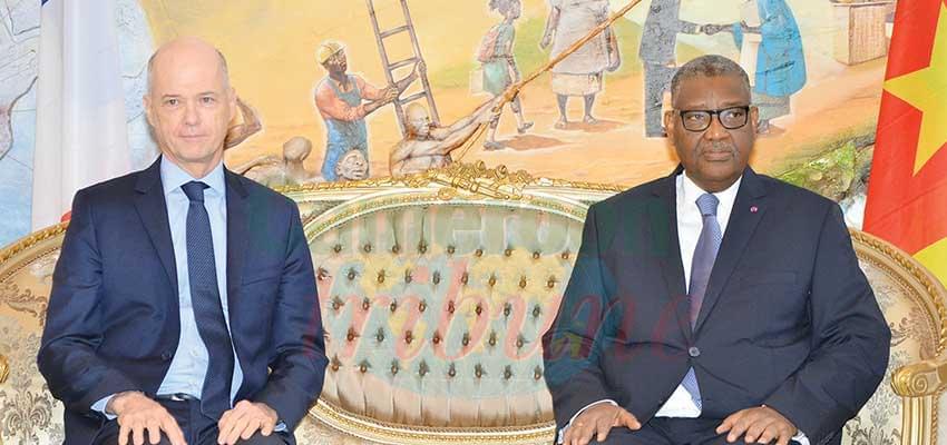 Le nouveau porte-voix de la France au Cameroun.