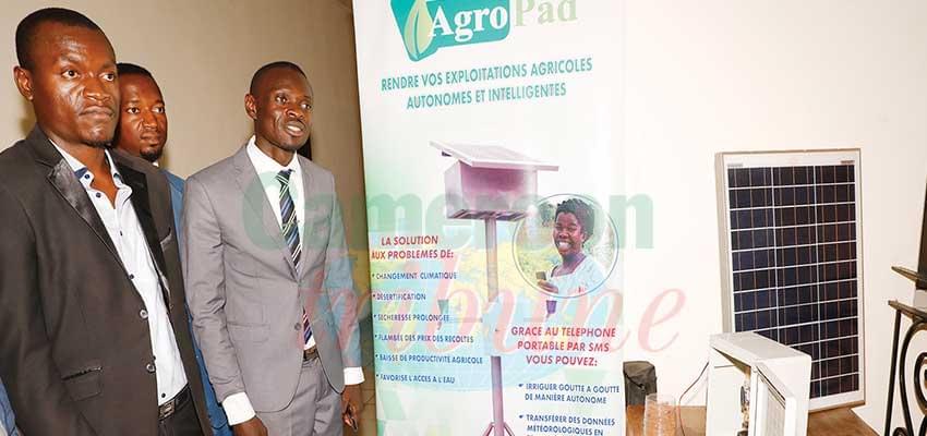 Avec l'Agropad, il est possible de cultiver en saison sèche comme en saison de pluies.