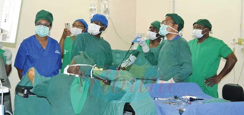 Image : Hôpital régional de Bafoussam: de nouvelles opérations de chirurgie endoscopique