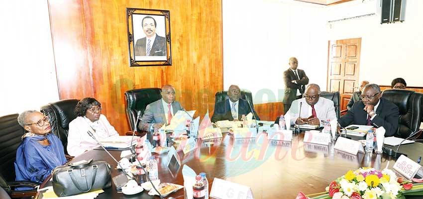 Les acteurs nationaux engagés pour une meilleure gestion des finances publiques.