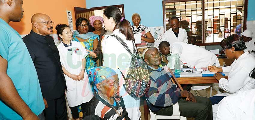 Campagne de santé oculaire: près de 200 personnes âgées aux petits soins
