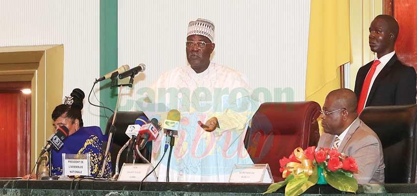 Chorus contre la déstabilisation du Cameroun: Assemblée nationale