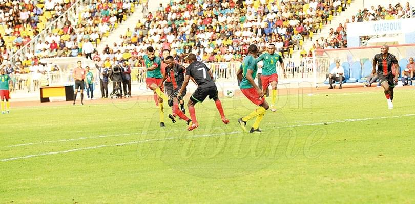 Image : Choupo-Moting Leads Cameroon To Victory