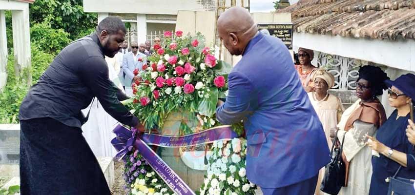 La mémoire d'Eboa Lotin saluée.