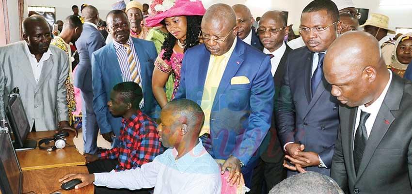 Foumban : le Centre multimédia Chantal Biya inauguré