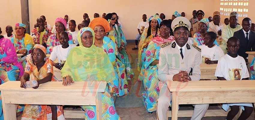 Image : North Region:Chantal Biya Revives Bidzar Primary School