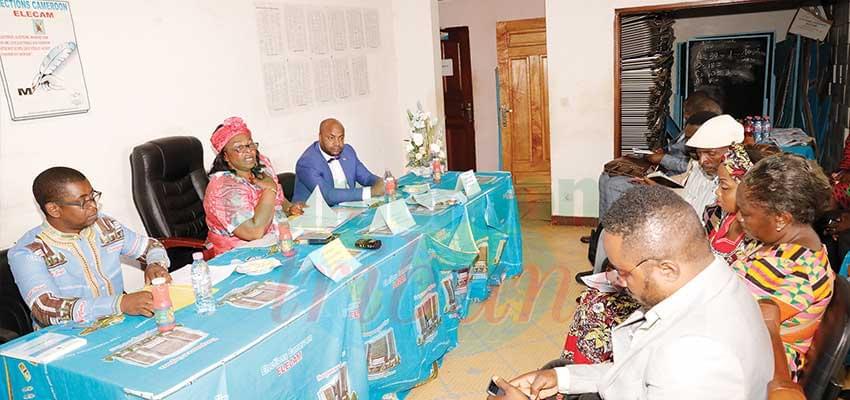 Appoline Marie Amugu venue motiver les membres de la commission mixte électorale