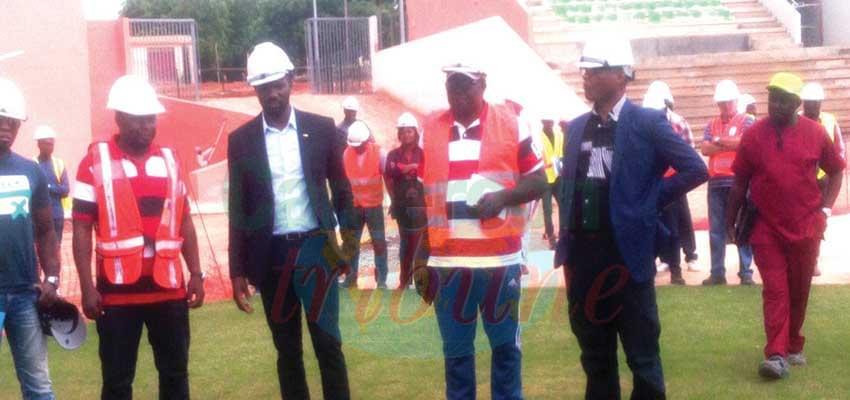 L'émissaire de la CAF sur les chantiers.