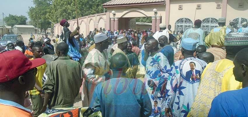 Image : Mora: les populations remercient Paul Biya