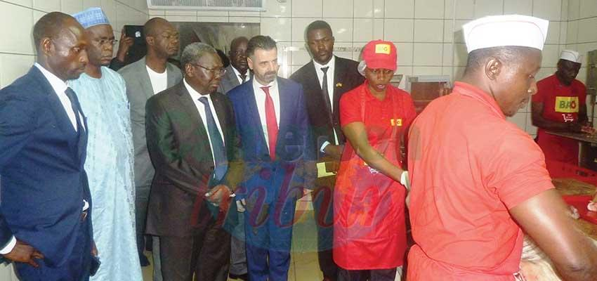 The Minister was taken on a guided tour round the facility to appreciate the services rendered himself.