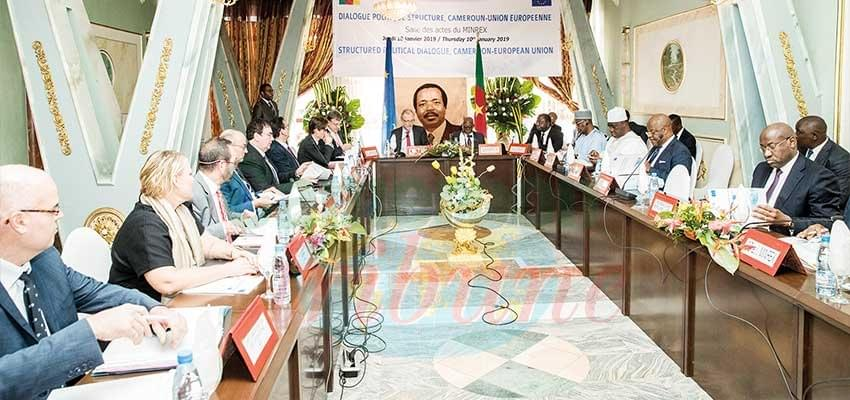 Image : Cameroon- European Union Hold Second Political Dialogue