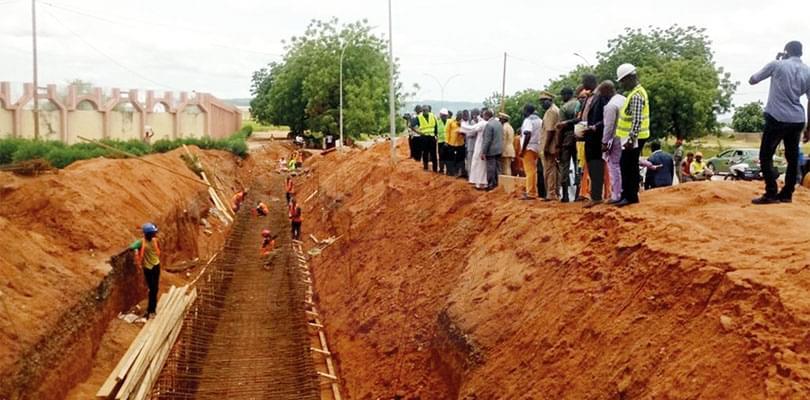 Image : Chantiers de voirie et logements à Garoua: le rythme des travaux à accélérer