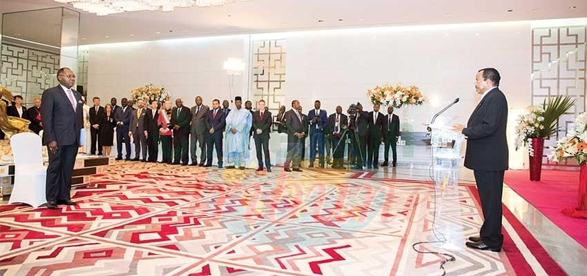 Image : 2019 New Year Wishes: Festive Ceremony At State House