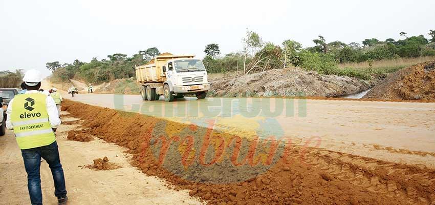 Batchenga-Ntui-Yoko-Lena Road : Minister Sanctions Construction Firm