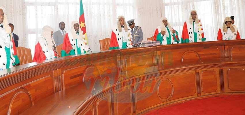 Le Conseil constitutionnel a vidé le contentieux pré-électoral, jeudi, 19 décembre 2019.