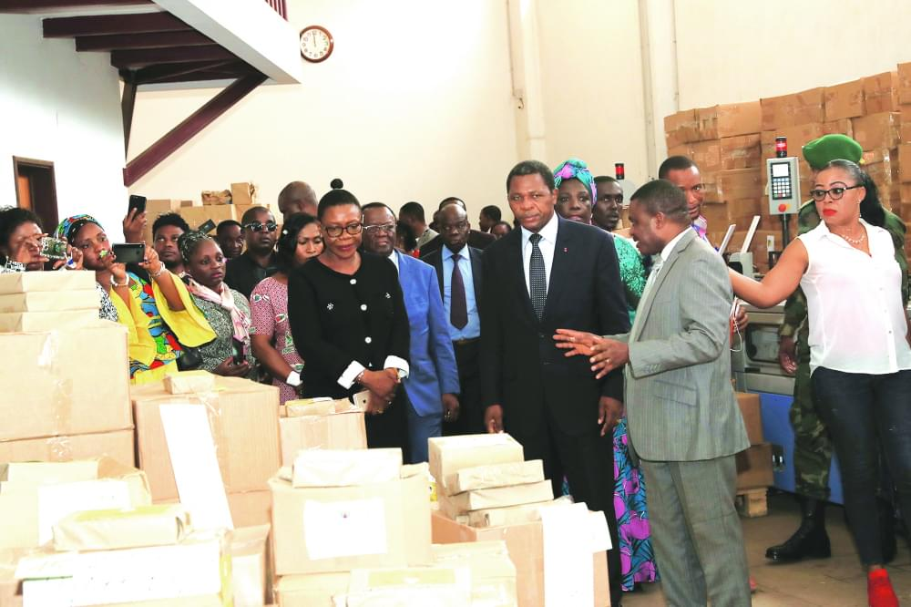 Electoral Materials : Government  Satisfied With Production