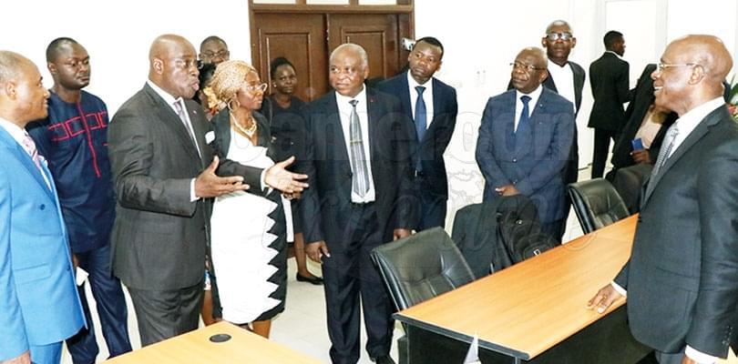 Image : Université de Douala: la chirurgie laparoscopique est dans l'amphi