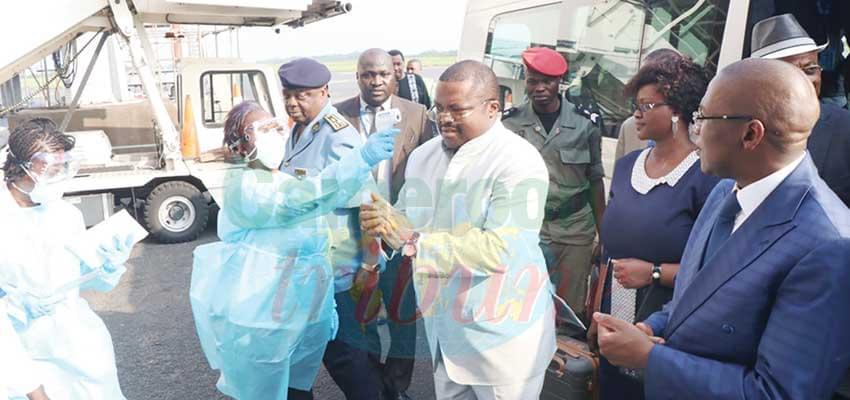 Coronavirus : le Minsanté en inspection à Douala