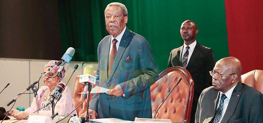 Sénat: l'unité et l'image du Cameroun d'abord