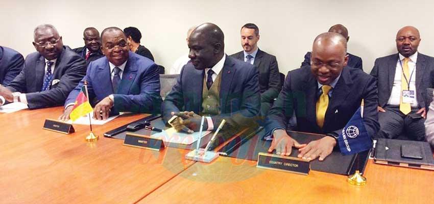La Banque mondiale résolument engagé à soutenir les efforts du Cameroun.