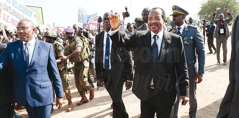 Image : Paul Biya: quadrillage tous azimuts du terrain