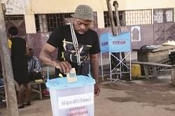 Mbam & Inoubou: Hitch-free Voting Exercise