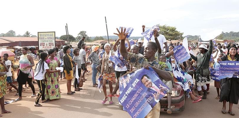 Image : Nyong-et-Mfoumou: Ayos en liesse