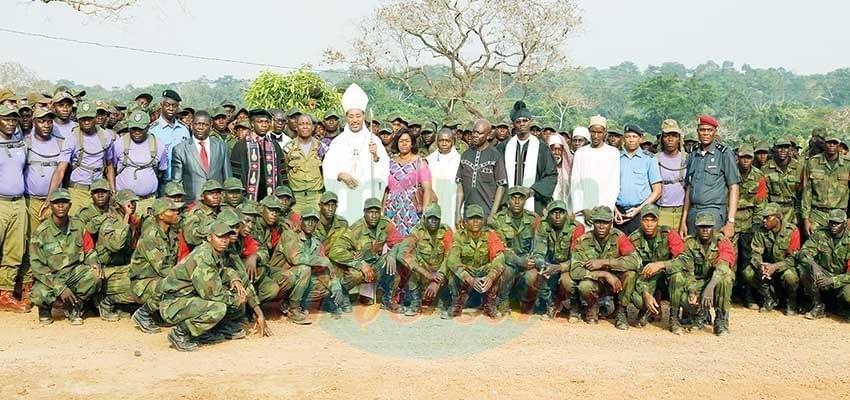 Garde présidentielle: le contingent 2019 sous la protection divine