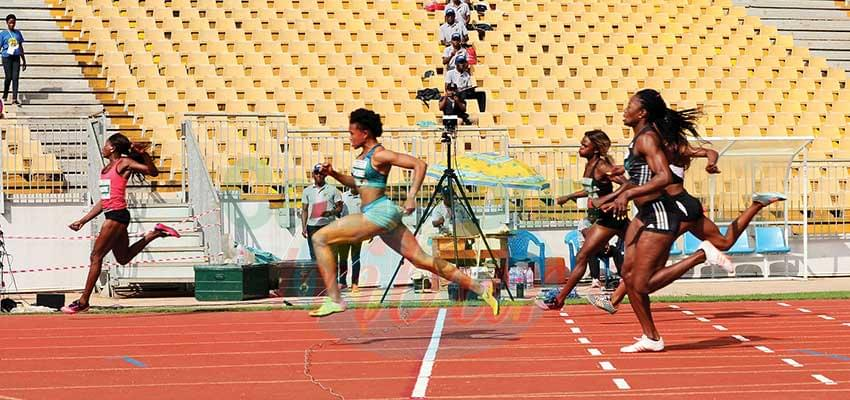 National Athletics Championships : One National Record Equalled
