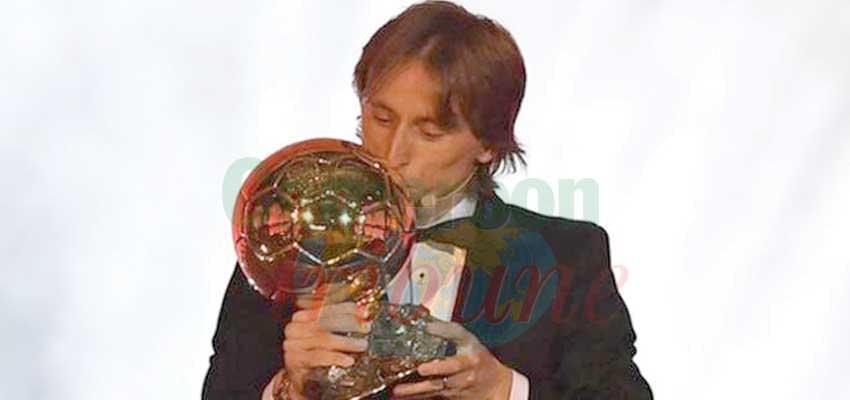 Ballon d'or: Luka Modric sacré