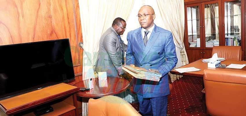 Image : Public Health: Minister Manaouda Malachie At Work