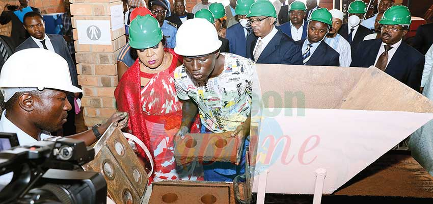 Image : Promotion Of Local Materials : Minister Galvanises MIPROMALO Staff
