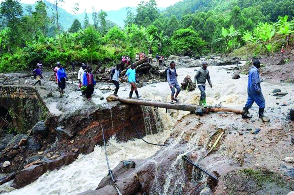 Image : Glissement de terrain en Ouganda: au moins 40 morts