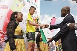 Image : Grand prix cycliste international Chantal Biya: Bellan Juraj aux commandes