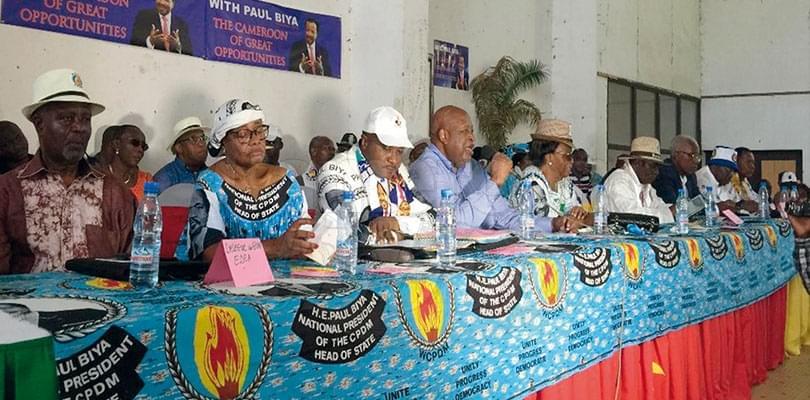 Image : Sanaga-Maritime: le Rdpc déroule sa manœuvre