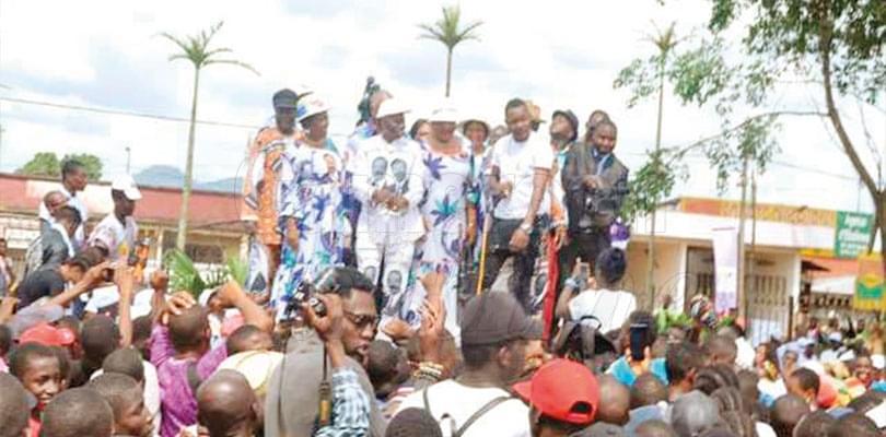Image : Ebolowa: le RDPC tient un méga-meeting carnaval