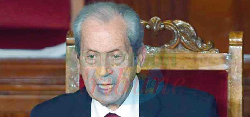 Mohamed Ennaceur, l'homme sur qui repose désormais le destin du pays.