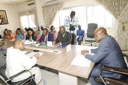 Centre international des civilisations Bantu: l'ouverture d'une représentation en vue