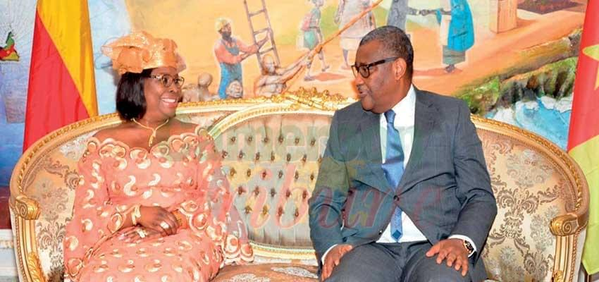 Diplomacy: Two Diplomats Present Lettres Of Credence